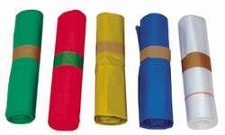 a490db9644 Sacs poubelle plastique en couleur pour le tri sélectif des déchets